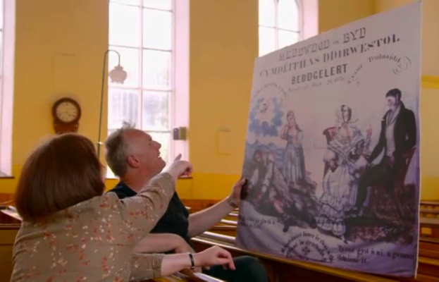 Greg Davies visits Capel Peniel in 2016 for Who do you think you are?
