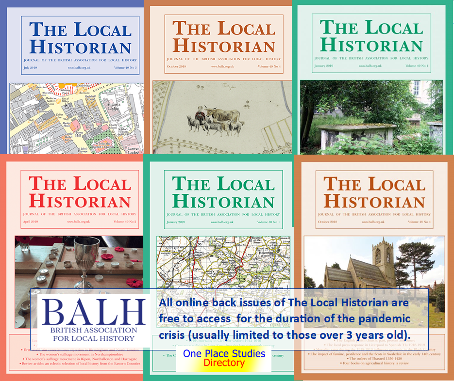 The Local historian - free access