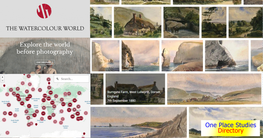 Watercolour World online database